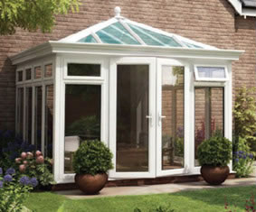 K2 diy Upvc Orangeries image and access