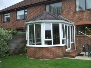 Guardian tiled conservatory roof - completed - Cheshire