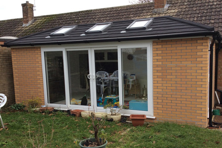 Recent diy prefab home extension completed for Prefab conservatory