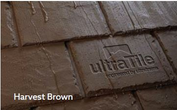 UltraRoof380 harvest brown tile