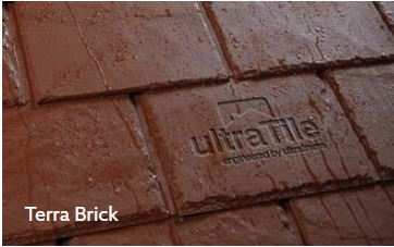 UltraRoof380 Terra Brick tile