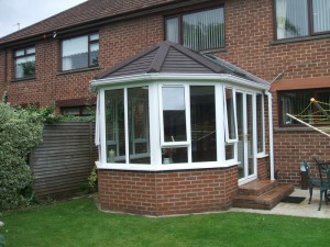 conservatory tiled roof image and access