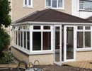 newbuild  conservatory tiled roof image and access