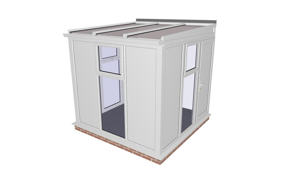 Upvc dog or cat kennel or building