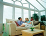 Bespoke Gabled Conservatory interior gallery photo